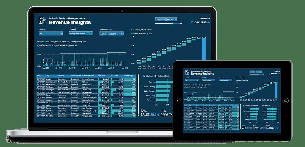 Revenue Insights Laptop Image
