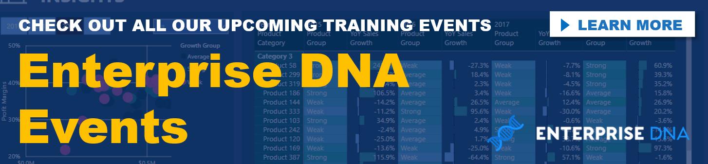 Enterprise DNA Events