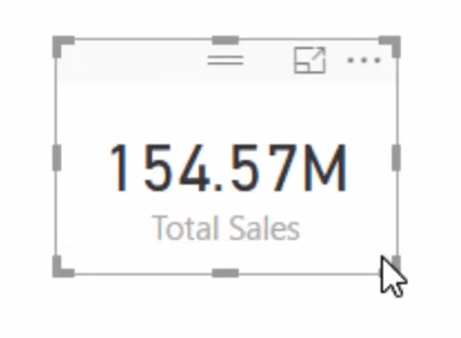 total sales table