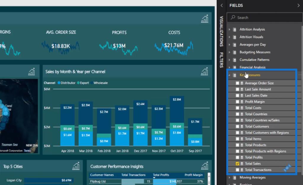 power bi data visualization