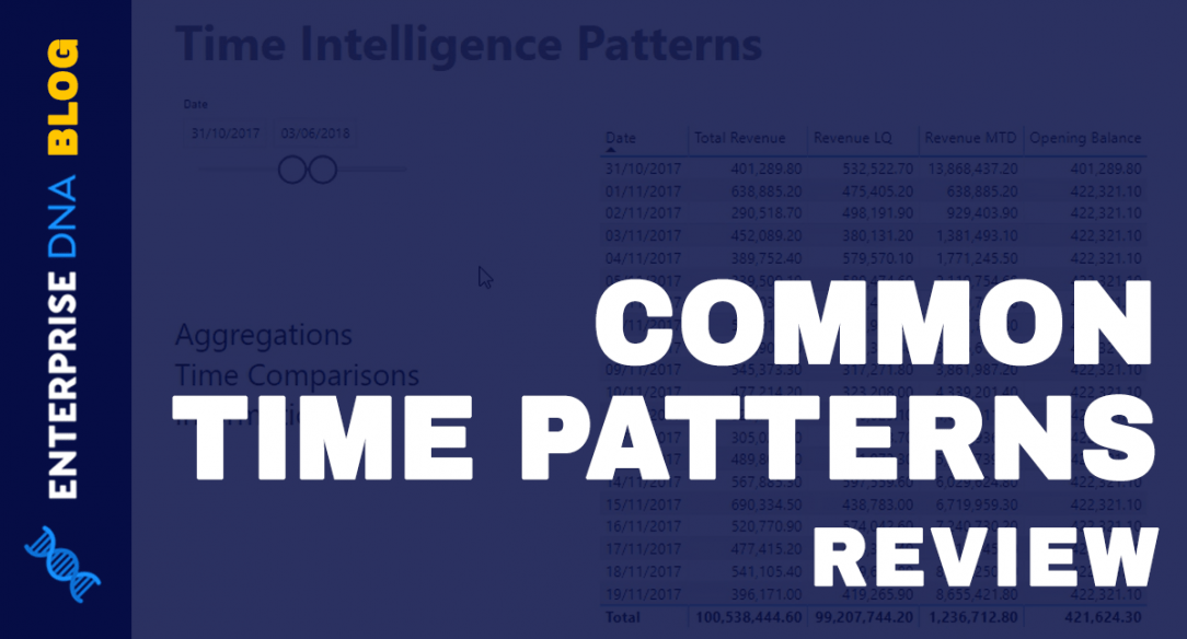 Common Time Intelligence Patterns Used In Power BI