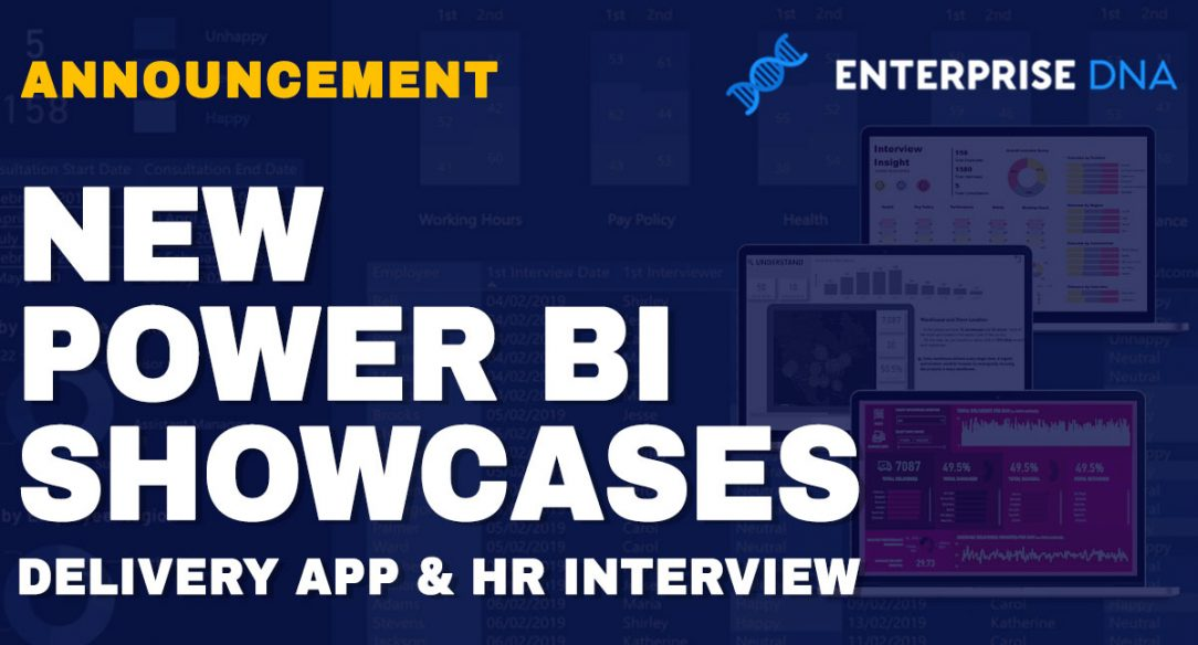 New Showcases For Valuable Delivery Application and HR Interview Insights in Power BI