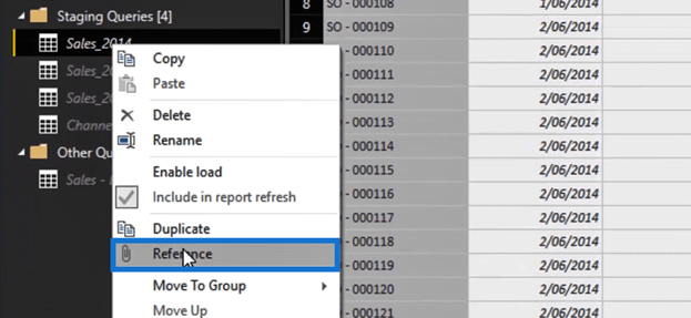 Referencing Queries In Power BI