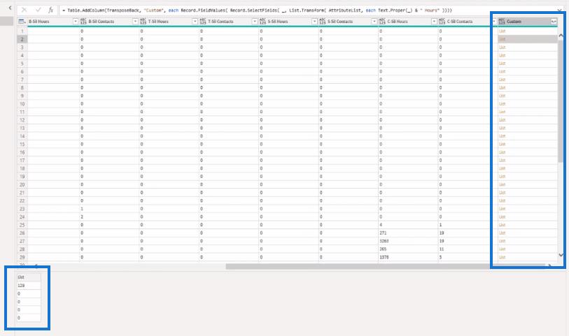 unpivot multiple columns