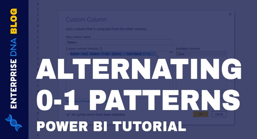 Power-Query-M-Alternating-0-1-Pattern-In-Date-Table