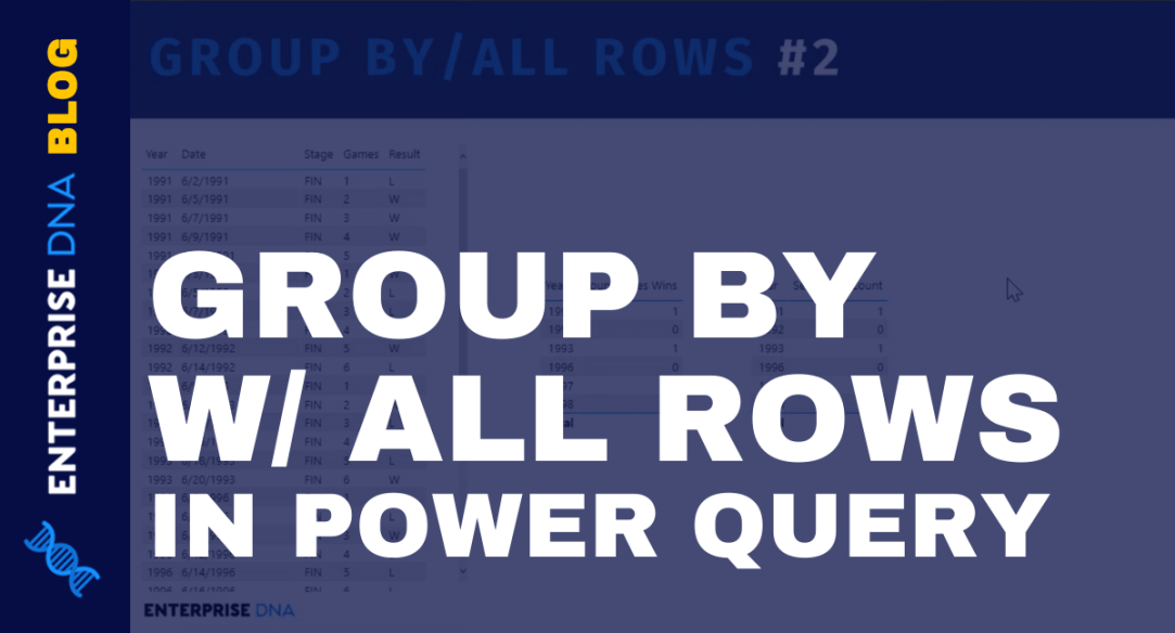 Power Query Function In Power BI: Group By Function