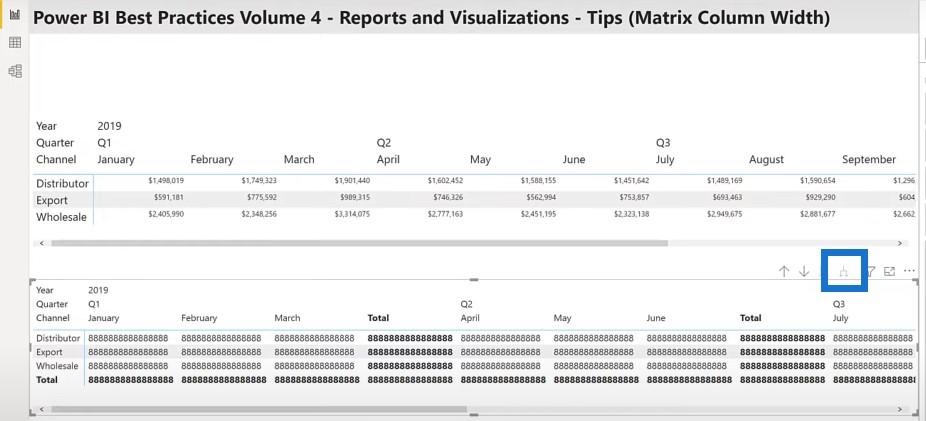 Power BI report examples