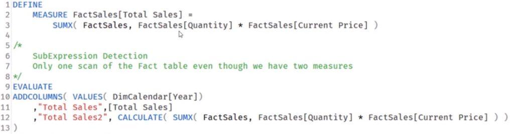 dax query optimization