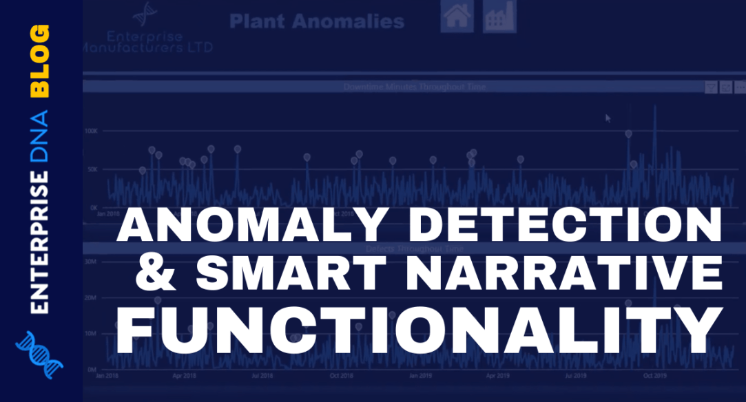 Anomaly Detection In Power BI, Zoom Sliders, and Smart Narrative Functionality