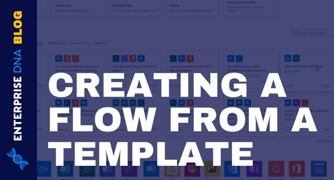 Power Automate Template | Creating And Running Flows