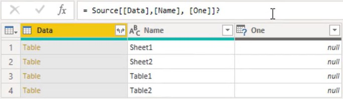 how to use power query