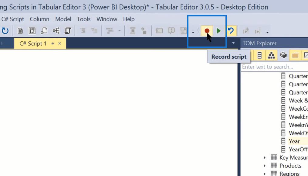 power bi tabular editor