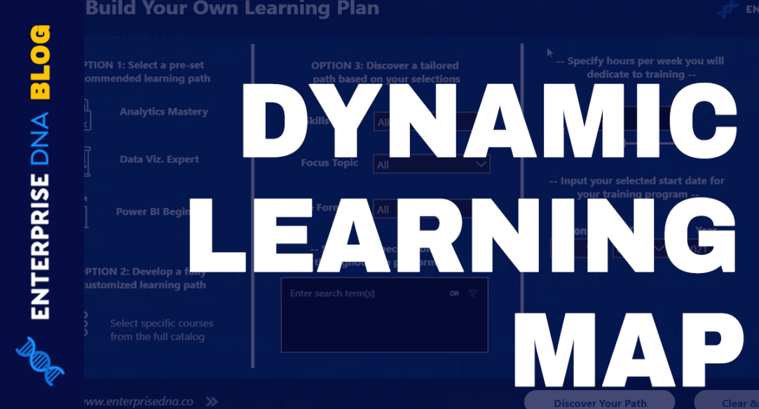 Learn Power BI With This Dynamic Learning Map