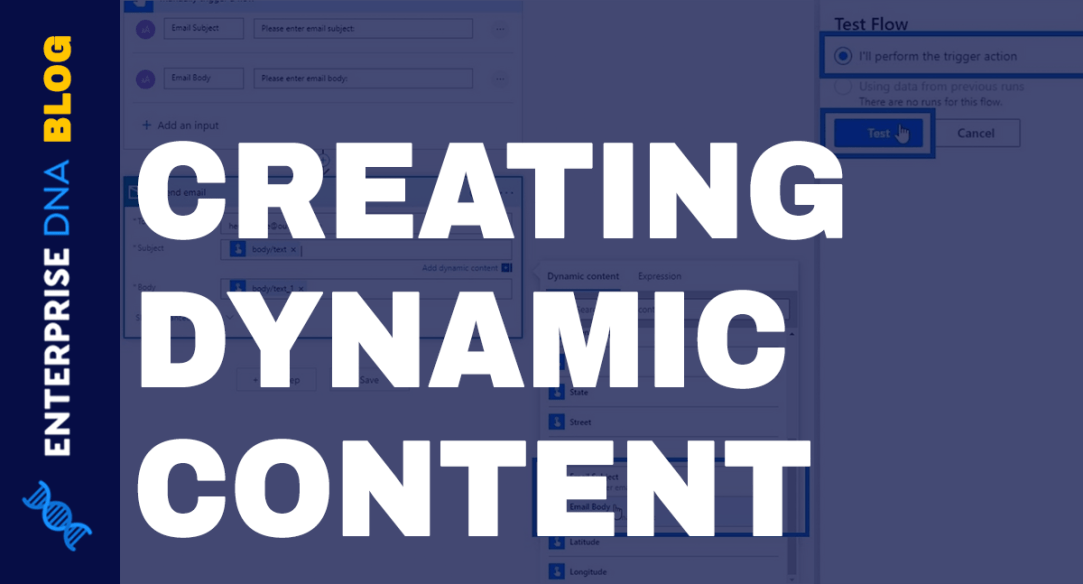 Power Automate Dynamic Content Overview