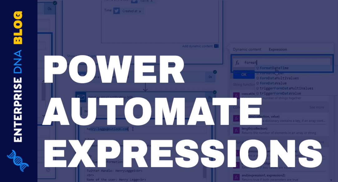 Power Automate Expressions – An Introduction