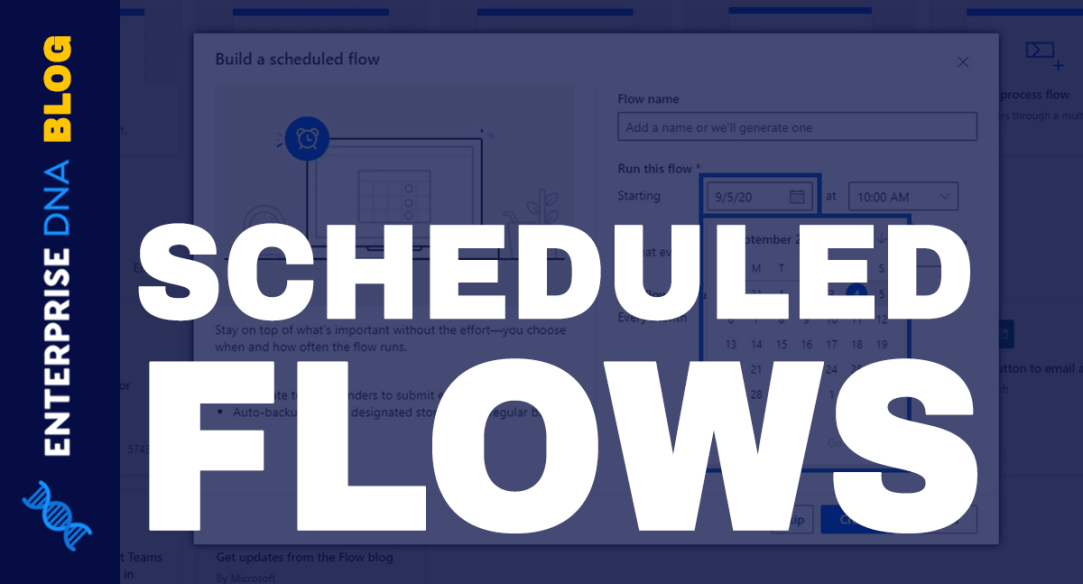 Scheduled Workflows In Microsoft Power Automate