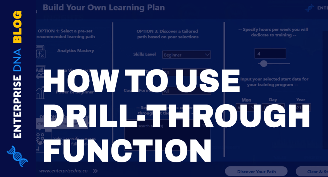 Drillthrough In Power BI: Functionality And Usage