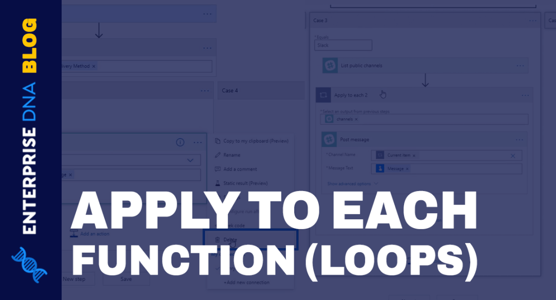 Power Automate Apply To Each Action In Workflows