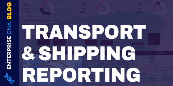 Reporting Apps Using Power BI For Transport & Shipping